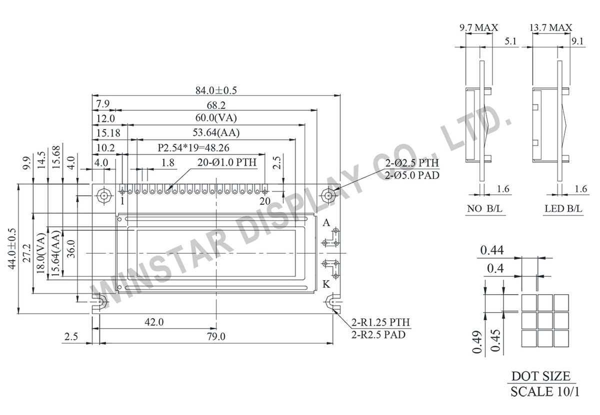 122x32 Graphic Lcd Graphic Lcd Display Module