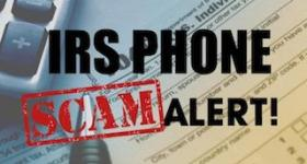 Fake I.R.S. phone scam busted
