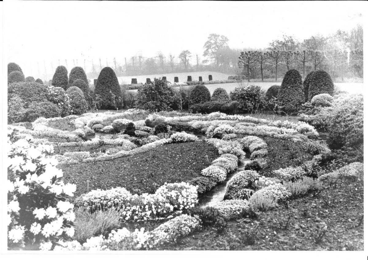 The Sunken Garden c. 1930s, Winterbourne House and Garden, Digging for Dirt