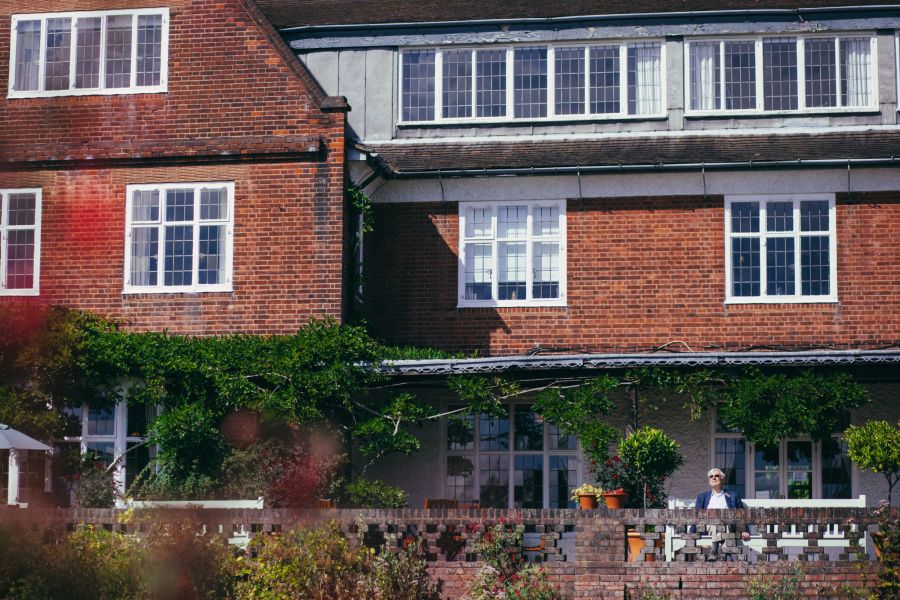 Terrace, photograph by Greg Milner, photography, Winterbourne House and Garden, Digging for Dirt
