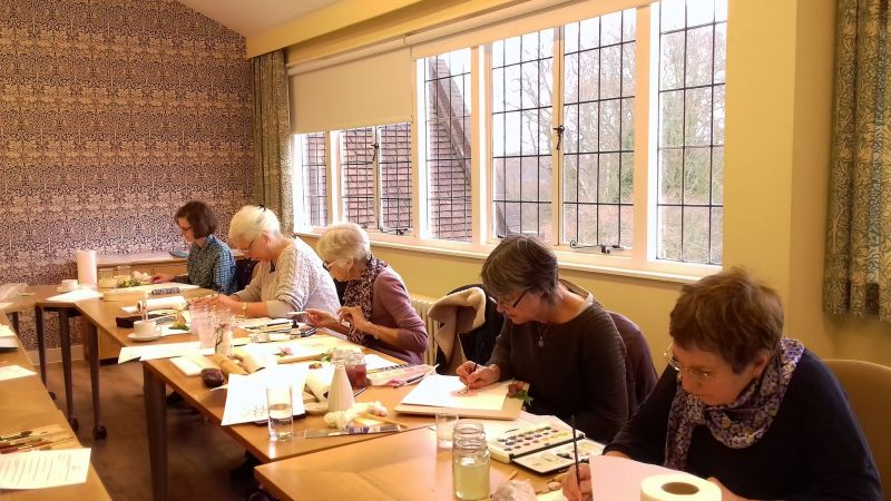 Jeni Neale's class at Winterbourne, May 2017, Snapshot, Winterbourne House and Garden, Digging for Dirt