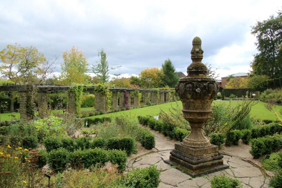 The Herb Circle and Pergola, photograph by Susan Georgiou, Snapshot, Winterbourne House and Garden, Digging for Dirt