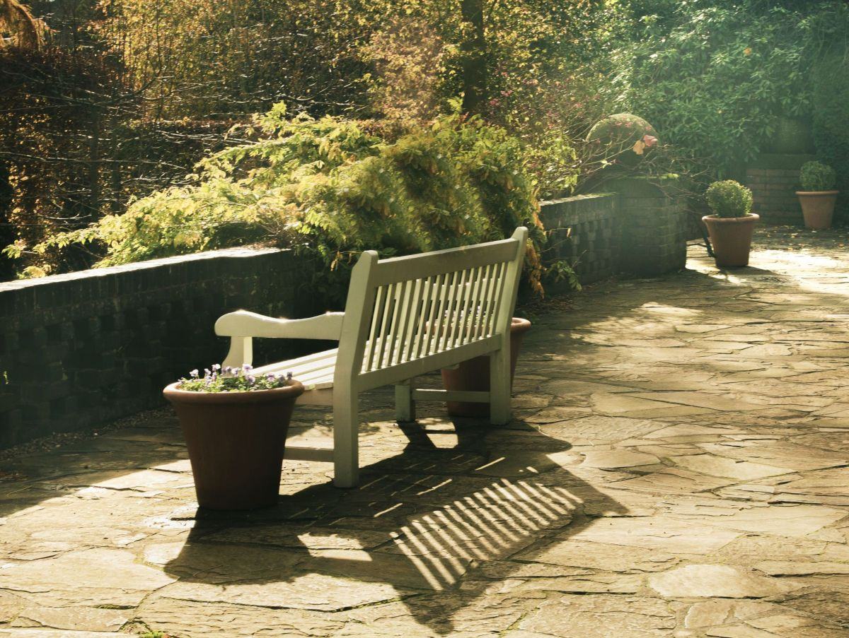 The Terrace, photograph by Maggie Bucknall, Winterbourne House and Garden, Digging for Dirt