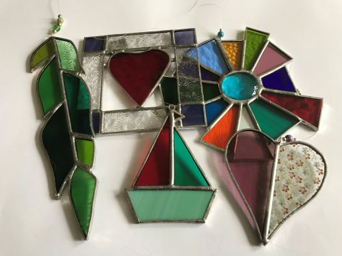 Stained glass shapes