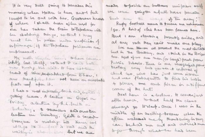 Ken Nettlefold, News From the Archives: Ken Nettlefold and the First World War, Winterbourne House and Garden, Digging for Dirt