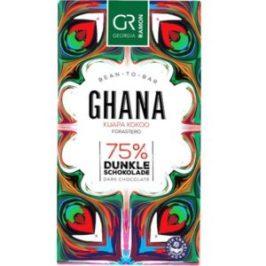 tafel schokolade georgia ramon ghana 75%