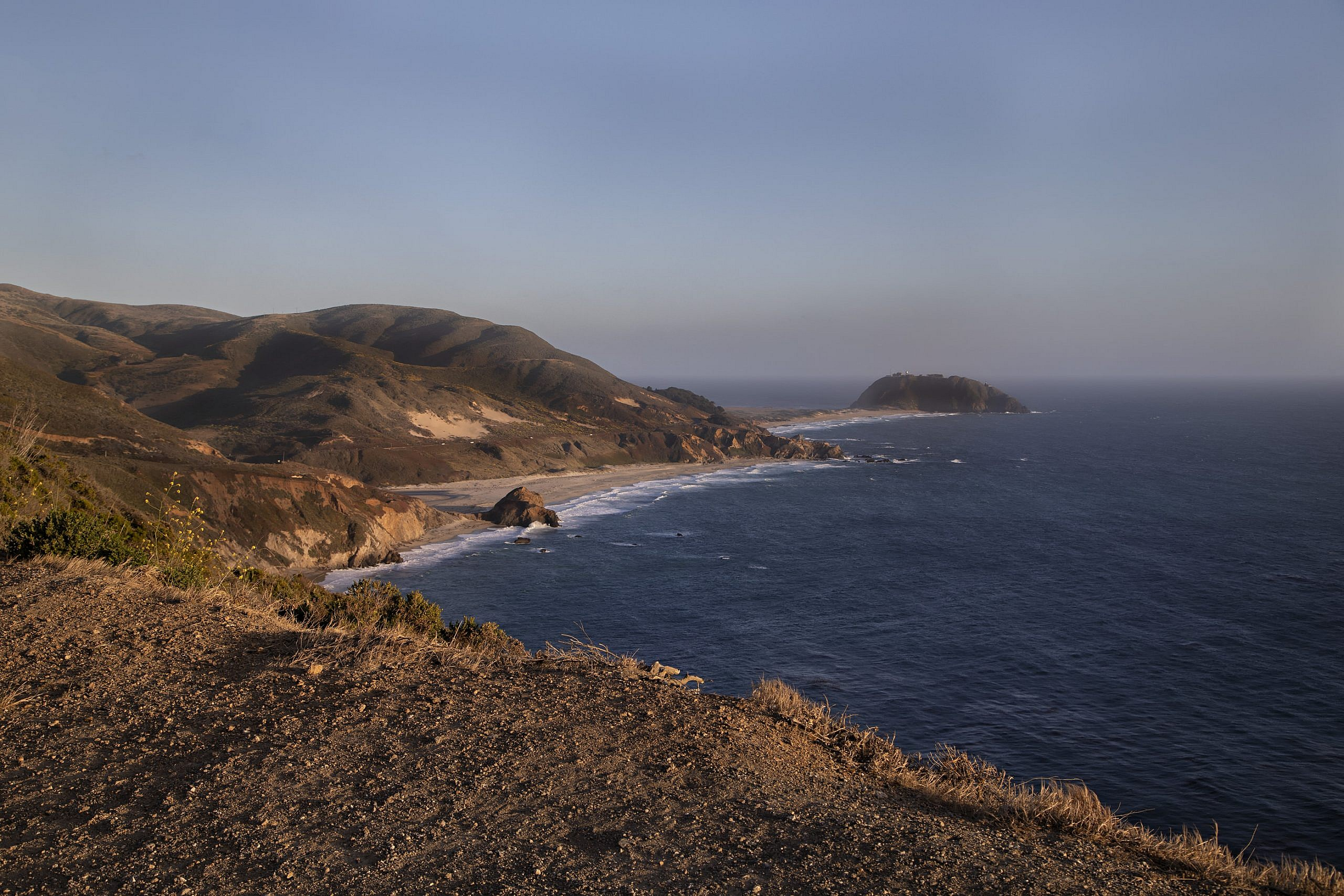 Looking toward Point Sur from Hurricane point