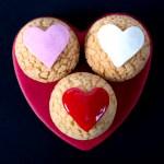 Pâte à choux heart shaped