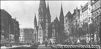 Kaiser Wilhelm Gedächtniskirche, Berlin, 1932