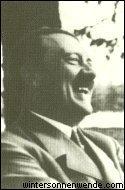 Hitler laughing