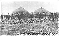 Murdered ethnic Germans outside Warsaw
