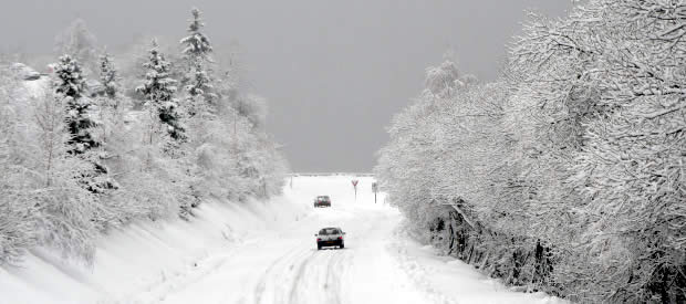 Winterbanden en sneeuwkettingen