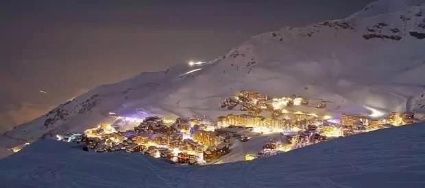 Sterke punten van wintersport in Val-Thornes