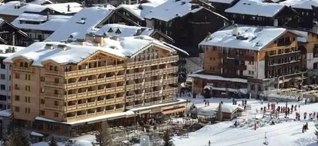 Vijfsterren hotel Le Yule Val d'Isere