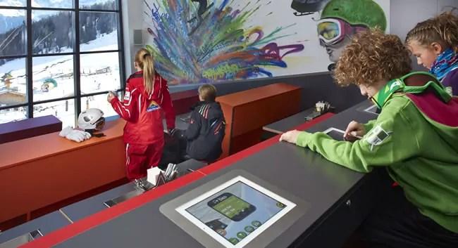 Kinderrestaurant Starrest in Serfaus