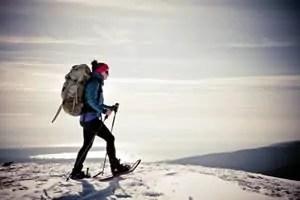 Wintersport in de lente