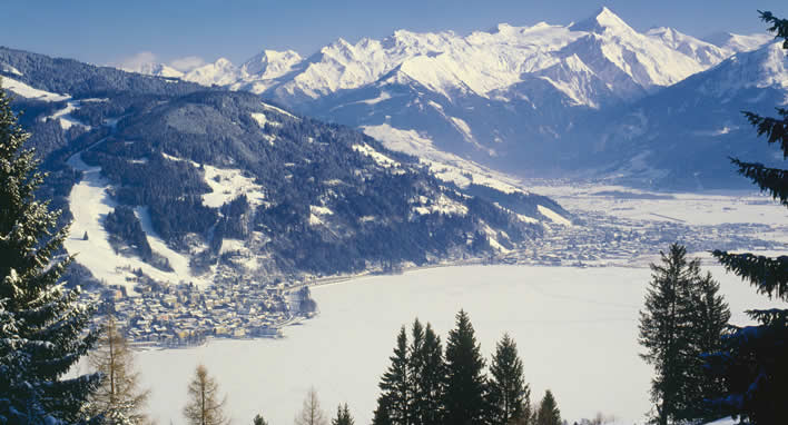 Sneeuwzekere wintersport in Zell am See