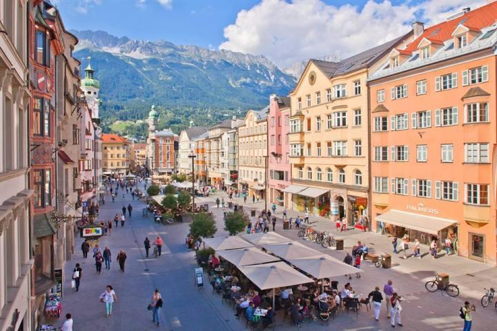 Innsbruck, zomerse taferelen