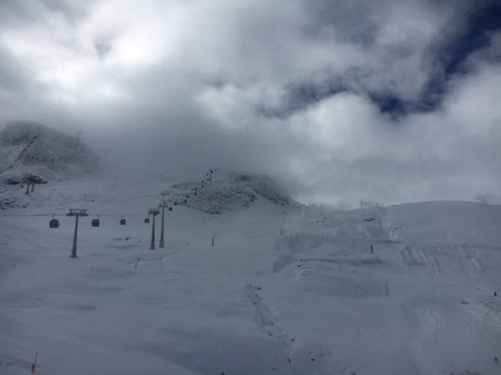 Hintertuxer Gletscher op 20/09/2017