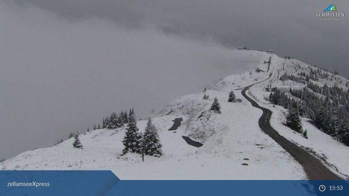 Sneeuwrijke plaatjes vanuit Zell am See