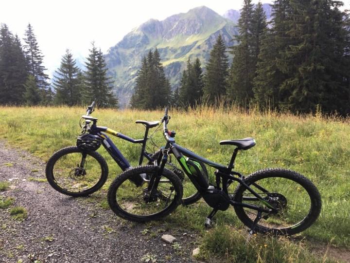 Ons mountainbike avontuur in Kleinwalsertal