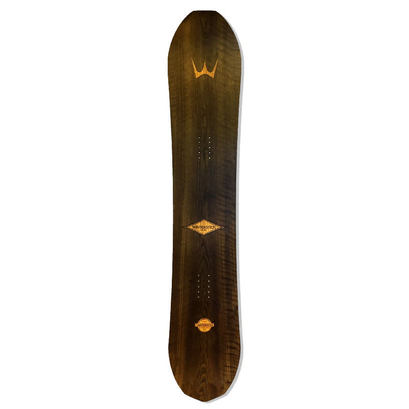 Winterstick ARK Twin snowboard Walnut Made in Maine USA