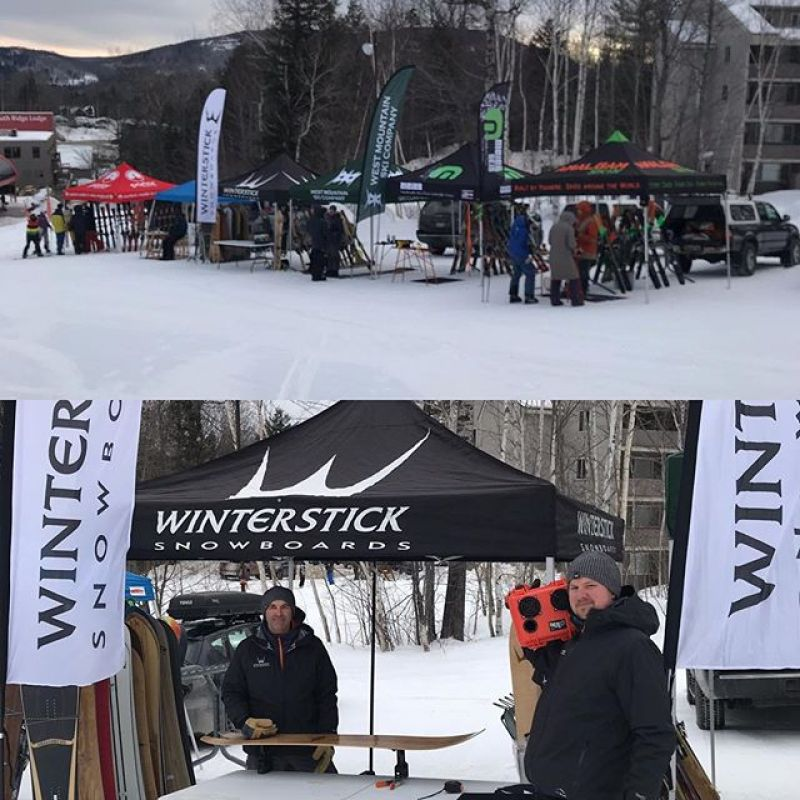 Indi Demo @sundayriver today!#snowboarding @demerbox #demoday #winterstormharper