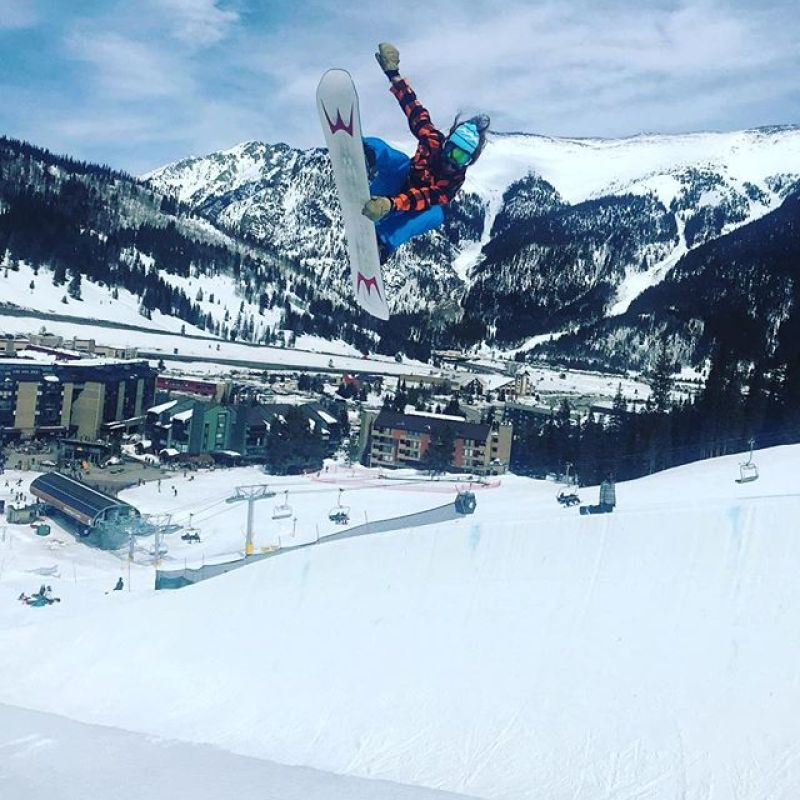 @goldytheelf ripping the @usasasnow Nationals halfpipe on his custom Winterstick asym twin.  Need a new board? We are giving $100 off all pre-orders for next season at www.winterstick.com #winterstick #artoftheturn #snowboarding