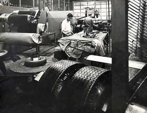 goodyear tyre and rubber company workers