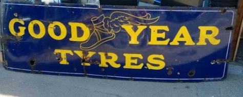 goodyear tyres signs