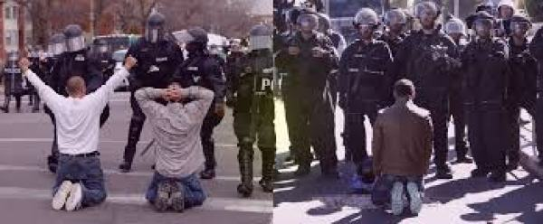 us israeli police state