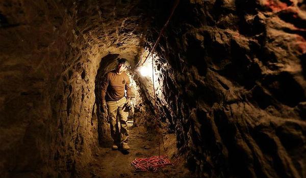 Mexico border tunnel
