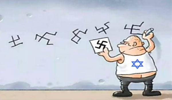 Image result for Swastikas cartoon