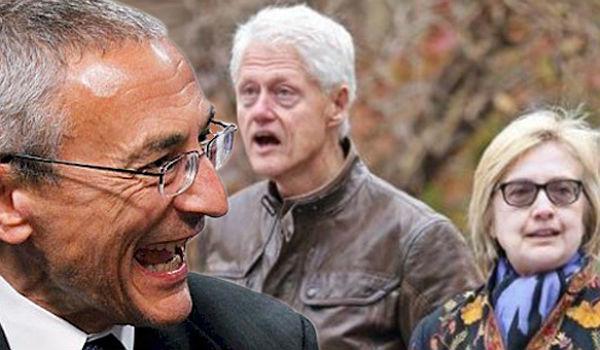 Podesta and Clintons