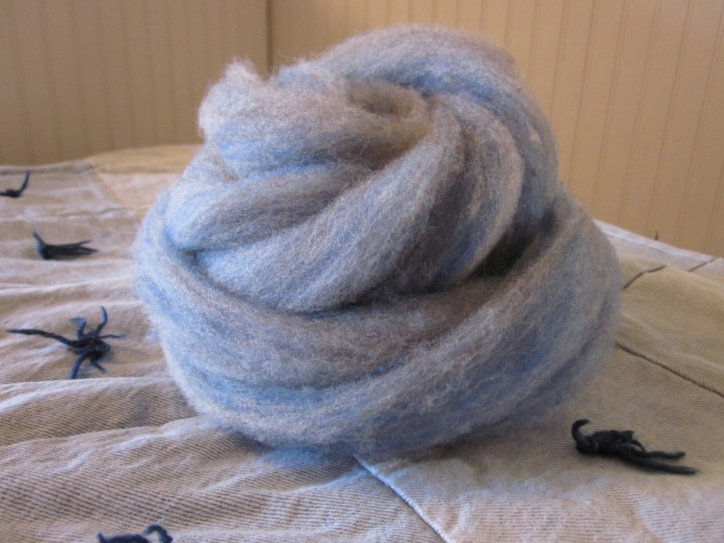 roving – cvm wool/kid mohair