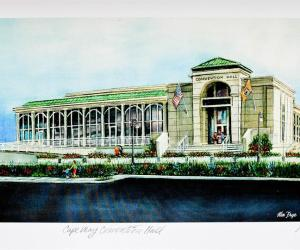 Cape May Convention Center Unframed Print