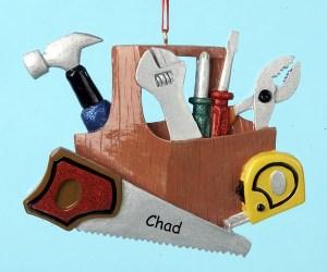 Handyman Tool Box Ornament