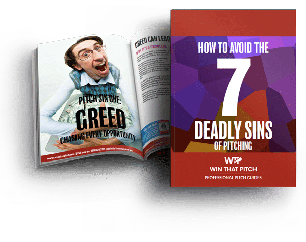 Win That Pitch EBook 7 Deadly Sins Of Pitching Cover