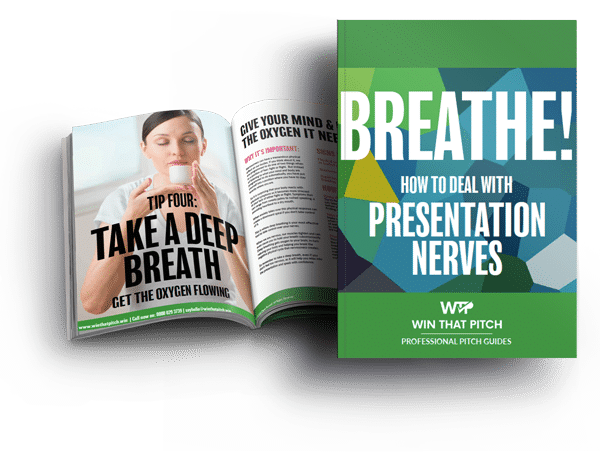 Win That Pitch EBook Overcoming Presentation Nerves