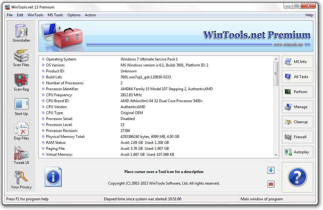 WinTools.net Premium 17 full version download