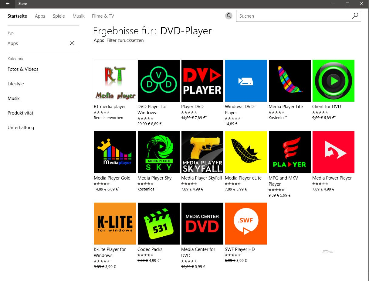 Kostenlose Dvd Player Fur Windows 10 Wintotal De