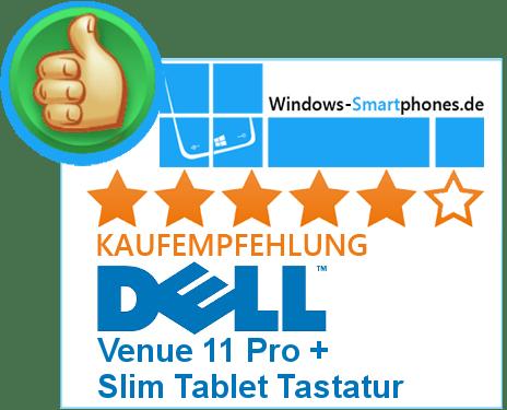 Dell Venue 11 Pro Testergebnis
