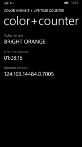 Lumia Codes Farbvariante - wintouch