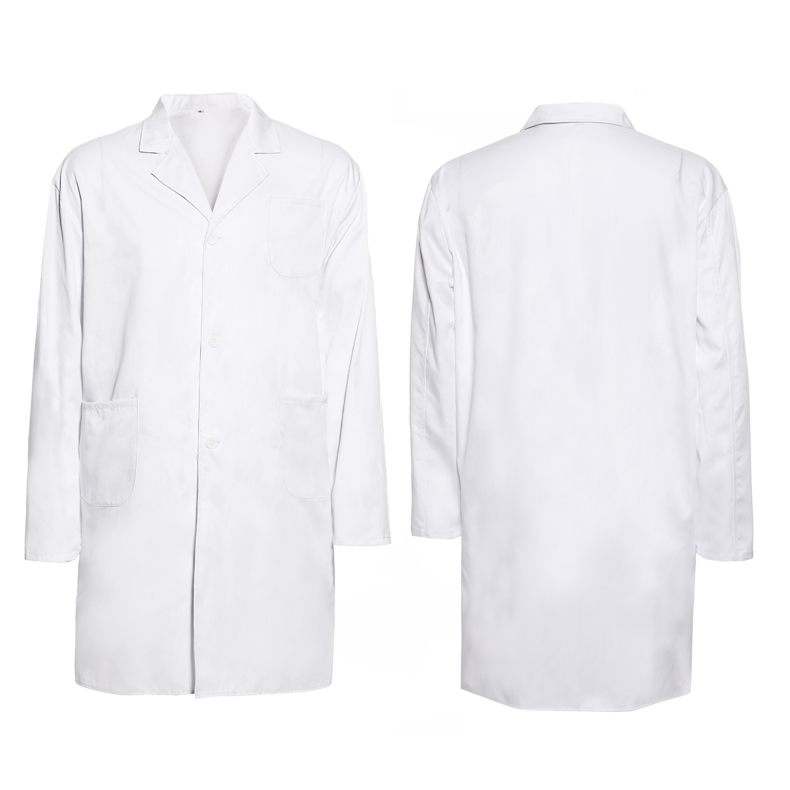 New White Lab Coat Medical Doctor Technician Food Hygiene