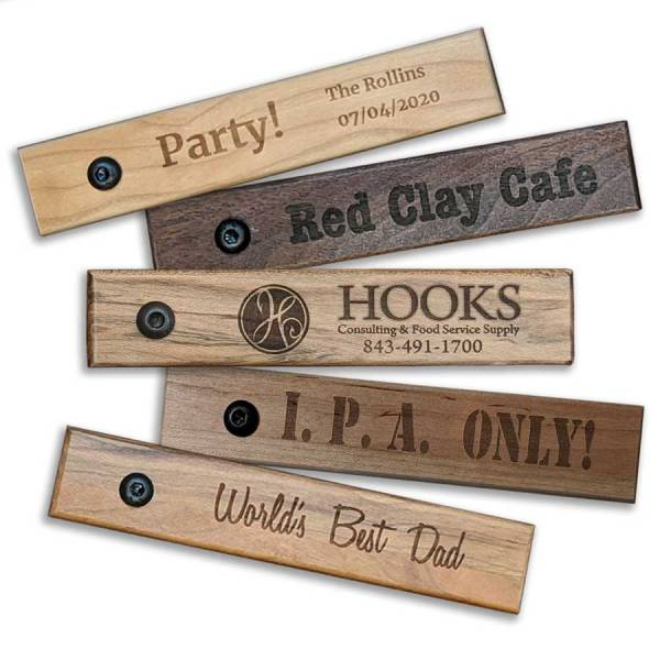 BO-PS Rectangular Bottle Openers Custom Engraved
