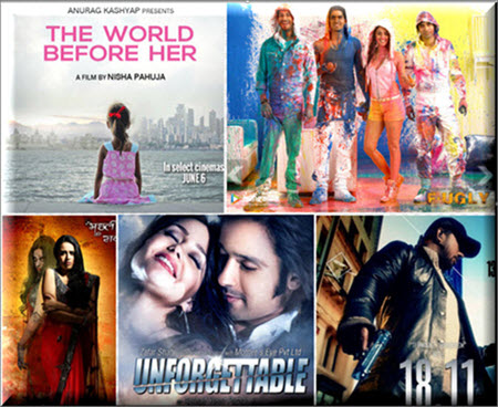 List of Top 10 New Hindi Movies 2014