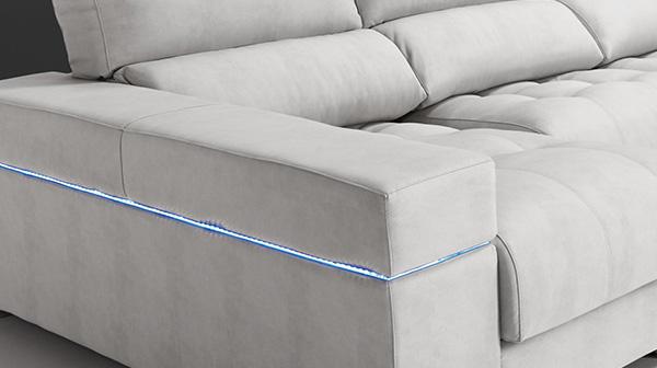 Cristal sofá para luces; Accesorios sofás