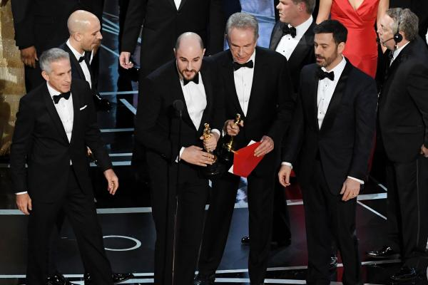 The Oscar goes to… ah no.