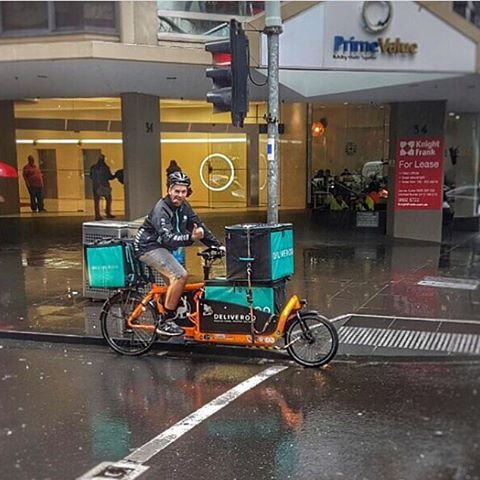Deliveroo bad weather