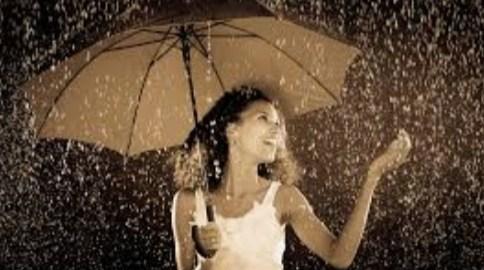 'E proprio quando piove che poi arriva il sole!